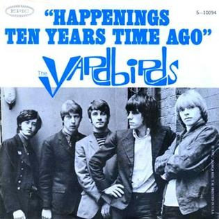 Happenings Ten Years Time Ago美國單曲版 /