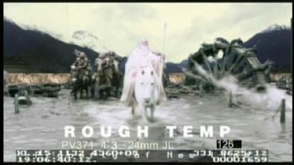 special effects of the lord of the rings film series