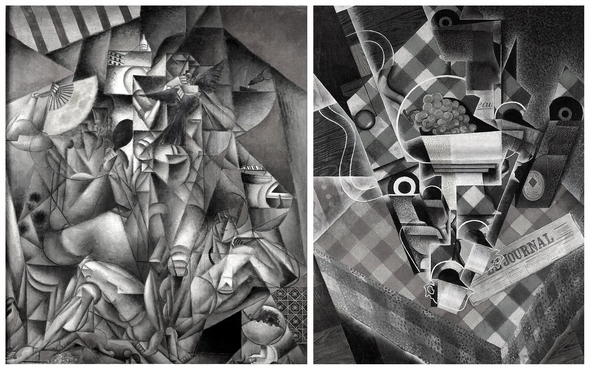 File:Jean Metzinger, 1912 13, Lu0027Oiseau Bleu Vs Juan Gris