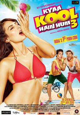 Kyaa Kool Hain Hum 3 (2016) Worldfree4u - Hindi Movie DVDRip 115MB ESubs – HEVC Mobile