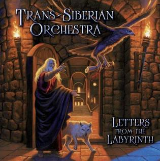 <i>Letters from the Labyrinth</i> 2015 studio album by Trans-Siberian Orchestra