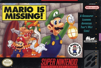 Mario is missing put