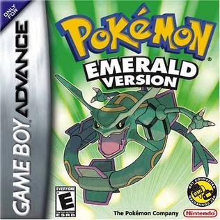 Picture of a game: Pokemon Emerald