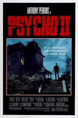 Psycho Hitchcock cult movie poster print #2
