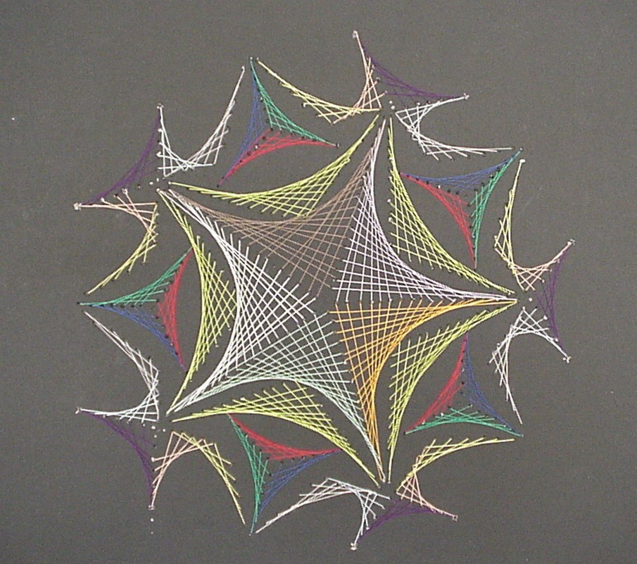 Shocking image intended for free printable string art patterns with instructions