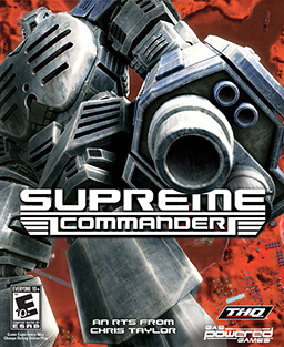Picture of a game: Supreme Commander