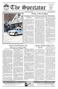<i>The Spectator</i> (Stuyvesant High School) newspaper in Stuyvesant High School, New York City