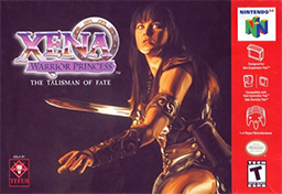 Xena - Warrior Princess - The Talisman of Fate Coverart.png