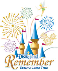 <i>Remember... Dreams Come True</i> nighttime spectacular at Disneyland