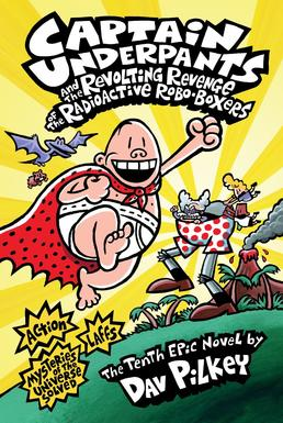 Image result for captain underpants and the radioactive robo boxers
