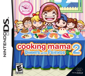 Picture of a game: Cooking Mama 2: Dinner With Friends