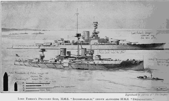 HMS Incomparable в реальности