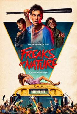 Freaks of Nature 2015 film poster