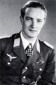 "Friedrich-Karl ""Tutti"" Müller German World War II fighter pilot"