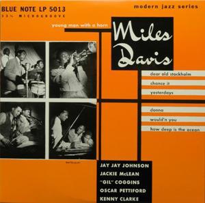 <i>Young Man with a Horn</i> (Miles Davis album) 1952 studio album by Miles Davis