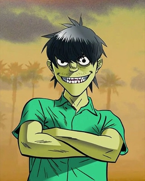 Is noodle dating murdoc