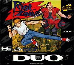 Front cover of Riot Zone.