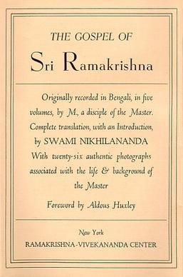 The Gospel of Sri Ramakrishna - Wikipedia