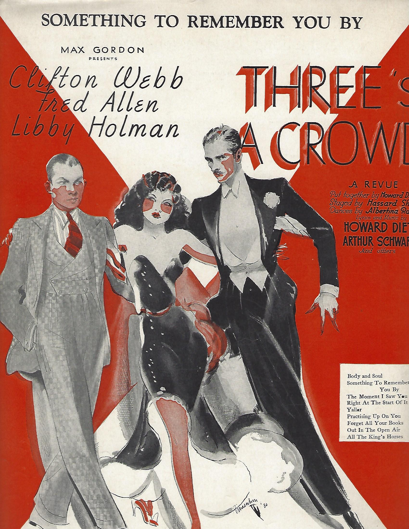 Three's a Crowd (musical) - Wikipedia