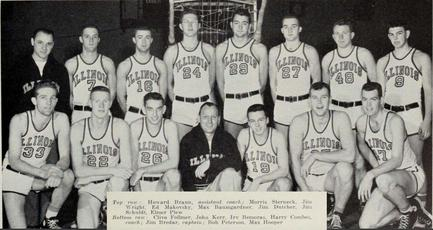 U High Basketball Roster 1952–53 Illin...
