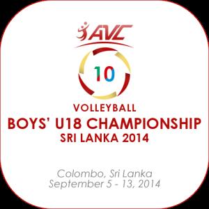 2014 Asian Boys U18 Volleyball Championship