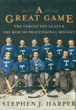 <i>A Great Game</i> book by Stephen Harper