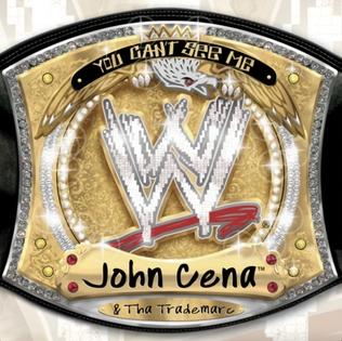 <i>You Cant See Me</i> 2005 studio album by John Cena and Tha Trademarc