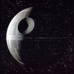 The Death Star in A New Hope