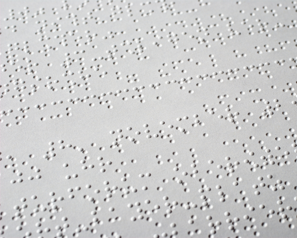 the history of braile History of blindness summary of the history of the education and rehabilitation of the blind  braille was accepted as the national standard for tactile reading for.