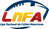 Logo for the Liga Nacional de Futbol Americano - LNFA.