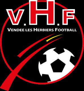 Les Herbiers VF association football club in France