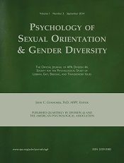 sex and psychology journals