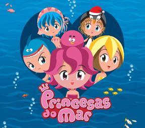 <i>Sea Princesses</i> 2004 book series and 2007 animated-series