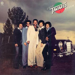 <i>Love Storm</i> 1977 studio album by Tavares