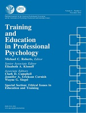 study professional doctorate educational psychology