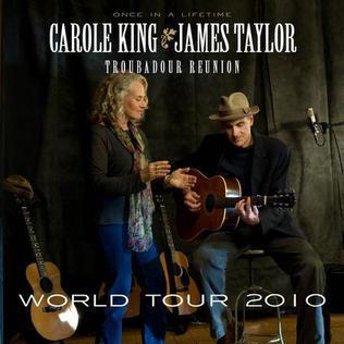 Troubadour Reunion Tour 2010 concert tour by Carole King and James Taylor