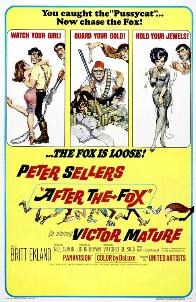 <i>After the Fox</i> 1966 British-Italian English language film directed by Vittorio De Sica