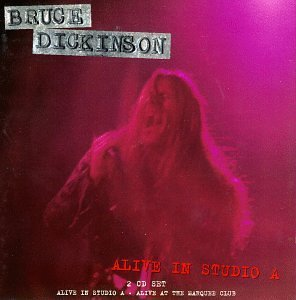 Bruce Dickinson - Alive in Studio A