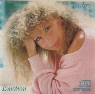 <i>Emotion</i> (Barbra Streisand album) 1984 studio album by Barbra Streisand