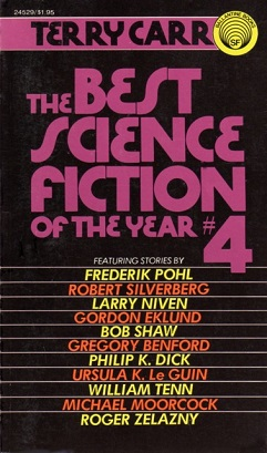 Best science fiction of the year 4 cover