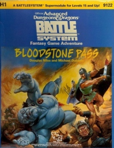 <i>Bloodstone Pass</i> book by Douglas Niles
