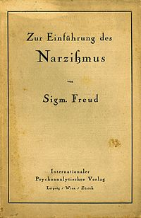 On Narcissism, German edition.jpg