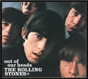 "U.S. album art for the 1965-release of ""Out of Our Heads"" by The Rolling Stones"