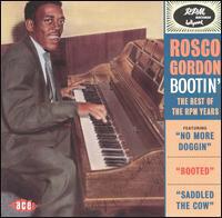 Rosco Gordon American Blues singer and songwriter