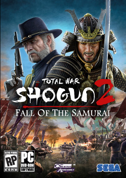 Shogun 2: Fall of the Samurai box art