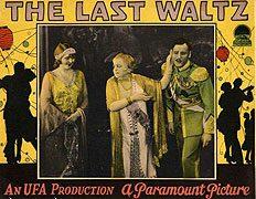 <i>The Last Waltz</i> (1927 film) 1927 film