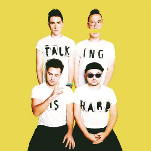<i>Talking Is Hard</i> 2014 studio album by Walk the Moon