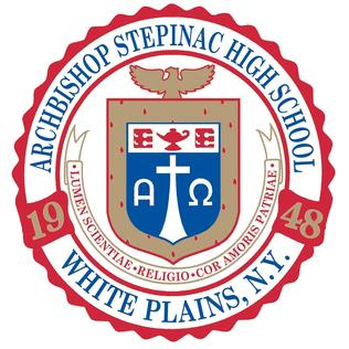 Archbishop Stepinac High School Private, all-male school in White Plains, Westchester County, New York, United States