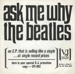 Ask Me Why 1962 single by the Beatles