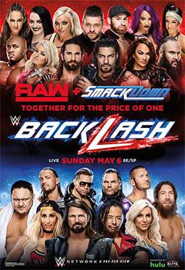 Post image of WWE Backlash 2018